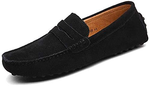 [LSGEGO] ドライビング シューズ メンズ スリップオン ローファー 運転靴 モカシン 靴 ファッション メンズ...