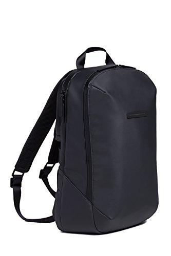 HORIZN STUDIOS Gion Backpack | Business Laptop Rucksack | Wasserabweisend | Schwarz (Black, M)