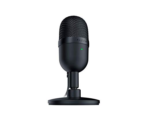 Razer Seiren Mini USB Streaming Microphone: Precise Supercardioid Pickup Pattern - Professional...