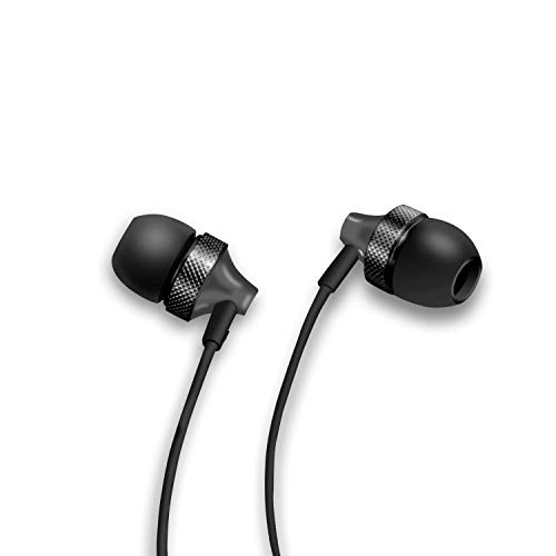 Sound One E20 in Earphones with Metal Body, Stereo Bass and One Button Mic