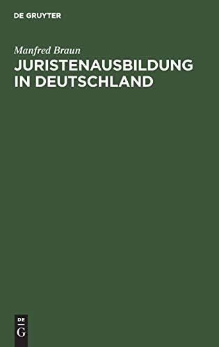 Juristenausbildung in Deutschland
