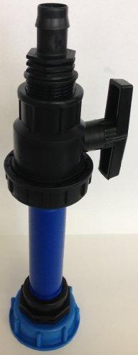 CMTech GmbH CMS60290R9487 Tubulure d'écoulement avec tube en plastique DN32, 100 mm AG 1\