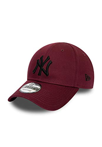 New Era Essential KTD Infant Baby 9Forty Adjustable Cap NY Yankees Dunkelrot, Size:Infant