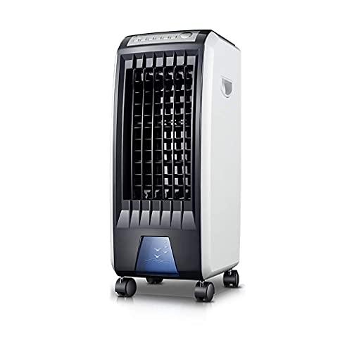 Fan Mesa refrigeradora Aire acondicionado Ventilador Pequeño Hogar Control remoto Refrigerador de aire Dormitorio Un solo Frío Mini Acondicionador de aire Agua Refrigeración Ventilador Oxígeno Bar Hum