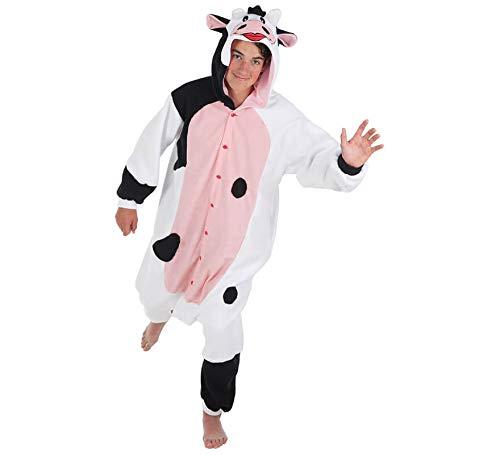 Creaciones Llopis Disfraz de Vaca lechera para Adultos