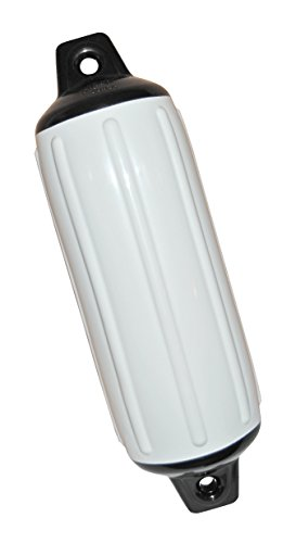 Taylor Made Products 950824 Super Gard Inflatable Vinyl Boat Fender, 8.5 x 26 inch, White