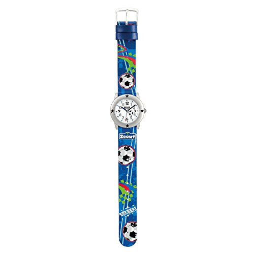 SCOUT Jungen Analog Quarz Uhr mit PU Armband 280393003