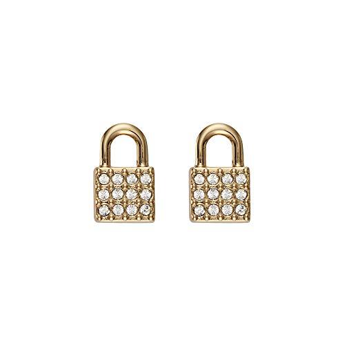 DKNY Donna Karan Ohrring Padlock Stud mit Swarovski®-Kristall