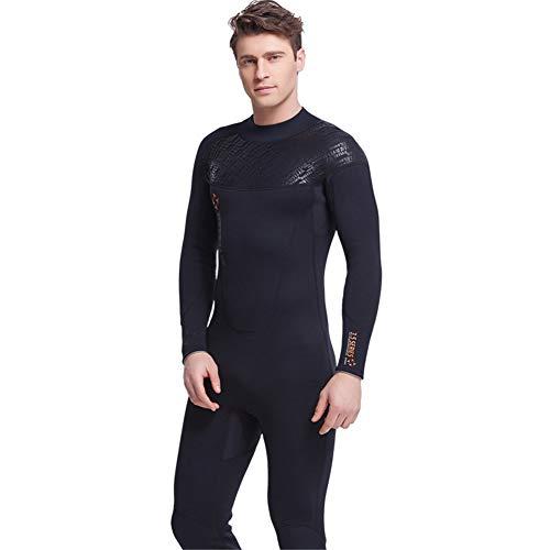 JASZHAO Mens 3mm Volllänge Sommer-Neoprenanzug | Damen 3 Neopren-Voll-oder Shortie Wetsuits | Surf, Kayak, Bodyboard,Men,XLT