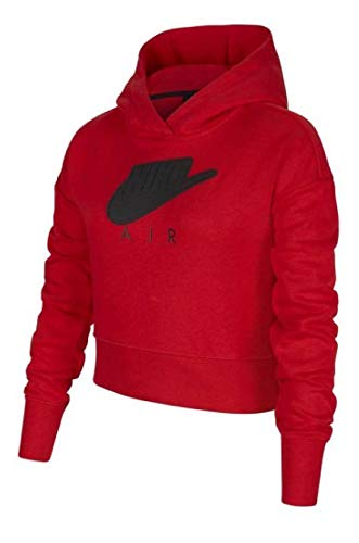 Nike G NSW AIR FT Crop - Sudadera con capucha (talla M)