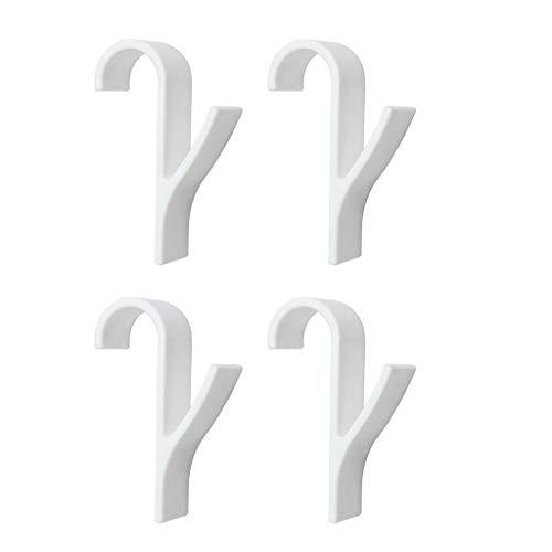 4/6 Handtuchhalter, Schienen Bad Haken für Heizung Handtuchhalter Heizkörper, Haken Aufhänger, Trockengestelle, weiches Tuch Kleiderbügel,4pcs