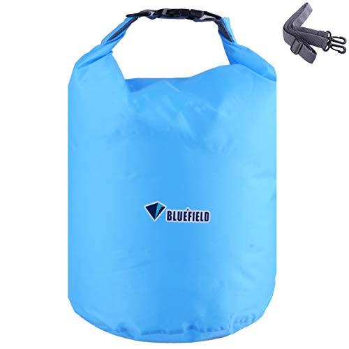 TRIWONDER Bolsa Estanca Impermeable 10/20/40L Bolsa Seca para Camping Playa Navegación al Aire Libre (Azul, 40L)