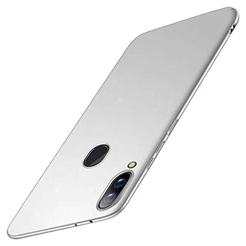 CXvwons Hülle für Samsung Galaxy A40 Hülle, Ultra Dünn Matt Galaxy A30 Handyhülle Stoßfest Anti-Fingerabdruck Hardcase Bumper Cover Schale Schutzhülle für Samsung Galaxy A20 (Galaxy A40, Silber)