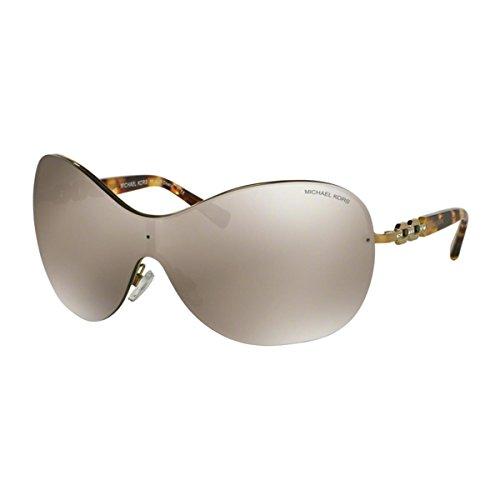 Michael Kors Croatia MK1002B Gafas de sol, Oro (gold-gold verspiegelt 10046), Small (Talla fabricante: 44) para Mujer