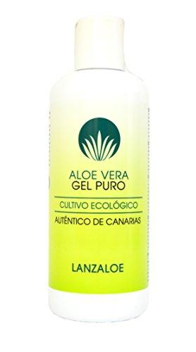 Lanzaloe Aloe Vera Gel Puur, 250 ml