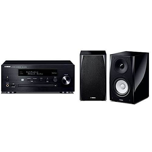 Yamaha MusicCast CRXN470D Compact Audio System with Built in Wifi, Airplay...