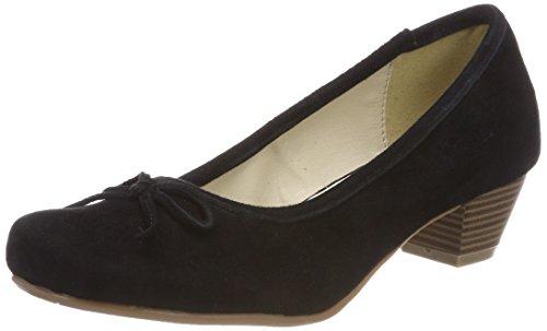 Andrea Conti 3003401 Zapatos de tacón con punta cerrada Mujer, Negro (Schwarz), 37 EU