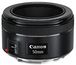 Canon 単焦点レンズ EF50mm F1.8 STM フルサイズ対応 EF5018STM [並行輸入品]