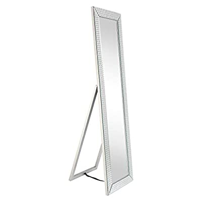 Empire Art Direct Wall-Mounted Modern Mirror 24 in. x 1.57 in. x 36 in. Clear,Champagne from Empire Art Direct
