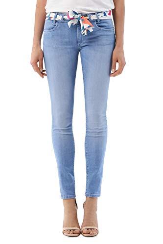 Salsa Jeans Damen Push Up Wonder Skinny Jeanshose Push Up, Blau 29W x 30L