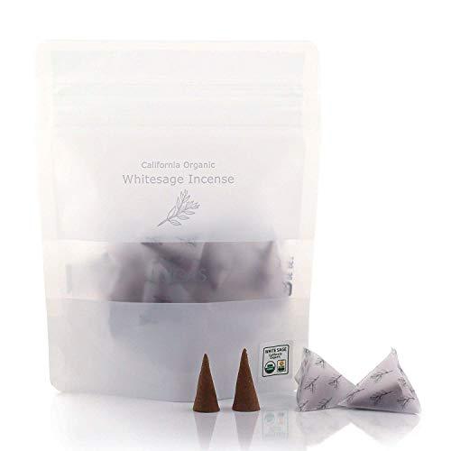 LUCAS エクストラ・ホワイトセージ お香 浄化用 (日本製・香料不使用・オーガニック)