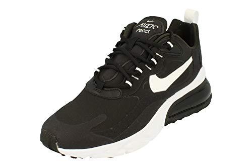 Nike Air Max 270 React Donne Running Trainers CI3899 Sneakers Scarpe (UK 3 US 5.5 EU 36, Black White 002)