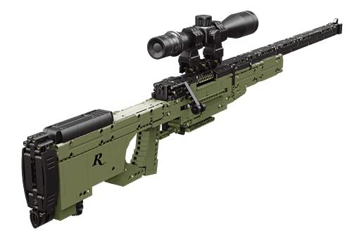 CampCo Remington Sniper Rifle Toy Gun Building Blocks, Functioning...