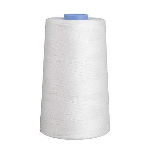 Connecting Threads 100% Cotton Essential Thread 5000 Yard Cone (White)