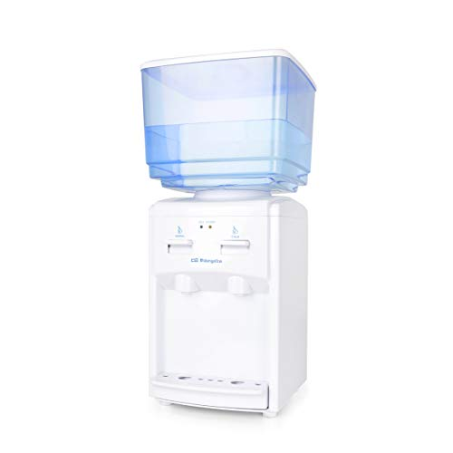 Orbegozo DA 5525 Dispensador de Agua Fría, 65 W, 7 litros, Plástico, Blanco