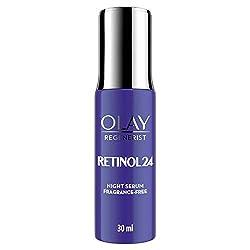 Olay Regenerist Retinol 24 Night Serum Fragrance-Free, 30 milliliters