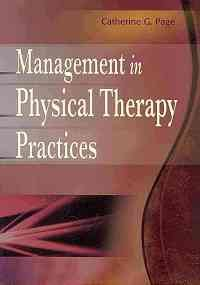 Management In Physical Therapy Practices (Pb 2010)