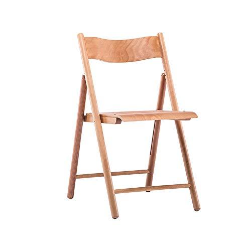 YANGYUAN Exterior Sillas Plegables, Asiento ergonómico del Respaldo for la Boda del jardín del Patio Principal Muebles de Madera Maciza portátiles sillas de la Sala Camping