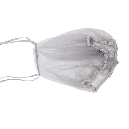 Manyao - Mosquitera para cochecito de bebé, protección antiinsectos universal para cochecito, mosquitera para cama de viaje, 52 x 54 cm (gris)