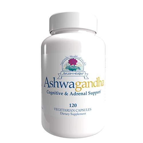 Ayush Herbs Ashwagandha (120 Capsules)