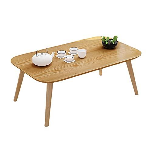 SH-tables Mesa De Centro, Mesa De Madera Maciza Japonesa/Mesa De Estudio/Mesa/Mesa De Comedor/Escritorio Pequeño, For Mesa De La Ventana De La Bahía De Tatami (Size : 100cm)