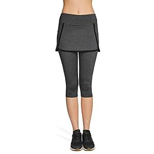 Naffta - Falda pantalón pádel , talla l, color negro / azul ...