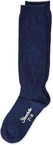 Sterntaler Jungen Socken Kniestrümpfe DP Uni, 2er Pack ,Blau (Marine 300) ,27-30 ,Herstellergröße (4-6 Jahre)
