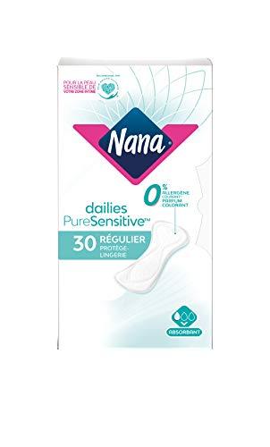 NANA PureSensitive Normal 30 Protège-Lingerie - Lot de 4