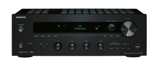 Onkyo TX-8050 Netzwerk-Stereoreceiver (Internet-Radio, DLNA, Apple iPod/iPhone kompatibel, 130 W/Kanal) schwarz