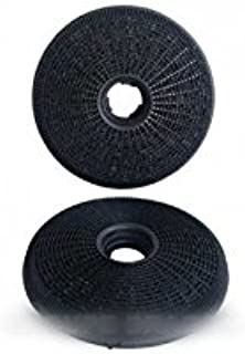 Candy – Filtros a carbón (X2) ø190 mm EP.40 mm para campana Candy: Amazon.es: Hogar