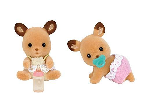 Twins Shea -67 de Sylvanian Families doll ciervos (Jap?n importaci?n / El paquete y el manual est?n escritos en japon?s)