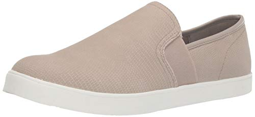 Dr. Scholl's Shoes Women's Luna Sneaker, Simple Taupe Lizard Print, 6.5