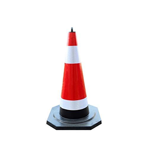 KXBYMX Verkehrskegel Warnkegel, Sicherheitskegel, Verkehrssicherheit Cone Verkehrsleitschilder H-73cm Pylon (Size : 1pcs)