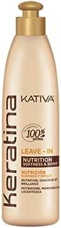 Kativa Keratina Crema de peinar para Nutrición suavidad y brillo 250 ml