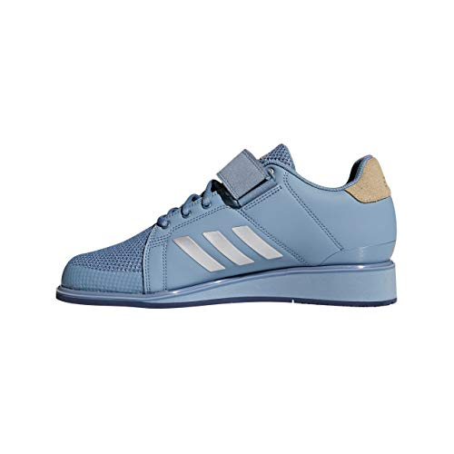 adidas Men's Power Perfect III Fitness Shoes, Grau Rawgre Silvmt Rawgol Rawgre Silvmt Rawgol, 13 UK