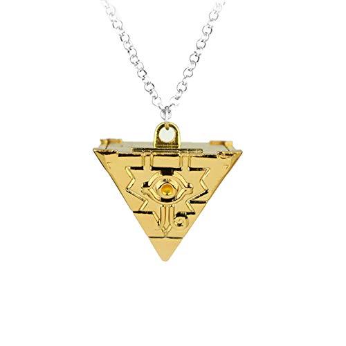 Yuesha Aiyin YuGiOh Millenium Puzzle Halskette Anhänger Metall