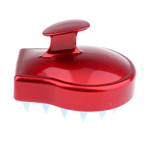 yotijar Cepillo de Silicona Antideslizante Masaje de Ducha para Cabello