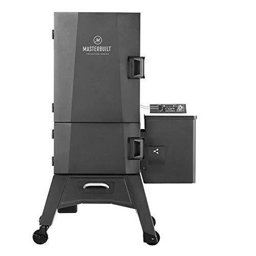 Masterbuilt MB21250518 Adventure Series Digital Barbecue Pellet Smoker with 6 Steel Racks, 8 Pound Pellet Capacity, Black