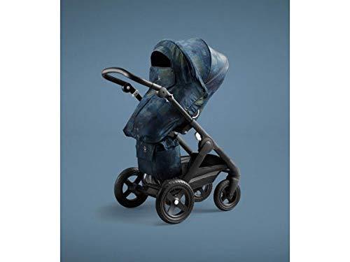 STOKKE® Trailz™ Stroller - geländetauglicher Multifunktions-Kinderwagen mit ergonomischem Sitz und Terrain-Rädern - Farbe: Black Terrain Freedom Limited Edition