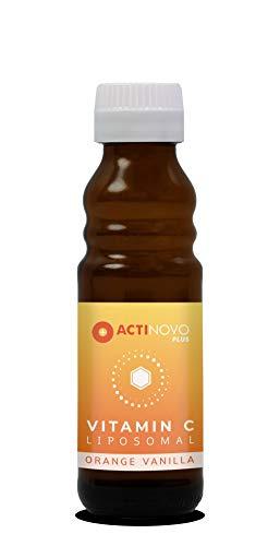 Liposomales Vitamin C | hochdosiert | für dein Immunsystem | 100 ml | Tagesdosis 1000 mg Vitamin C | hohe Bioverfügbarkeit | flüssig | ohne Zusätze | vegan